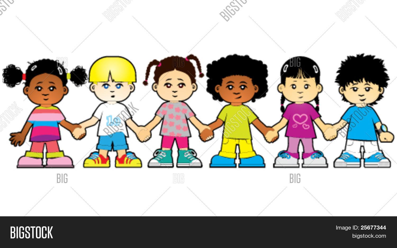 Imagenes De Niños De Distintas Razas: Vector Y Foto Niños Del Mundo (prueba Gratis)