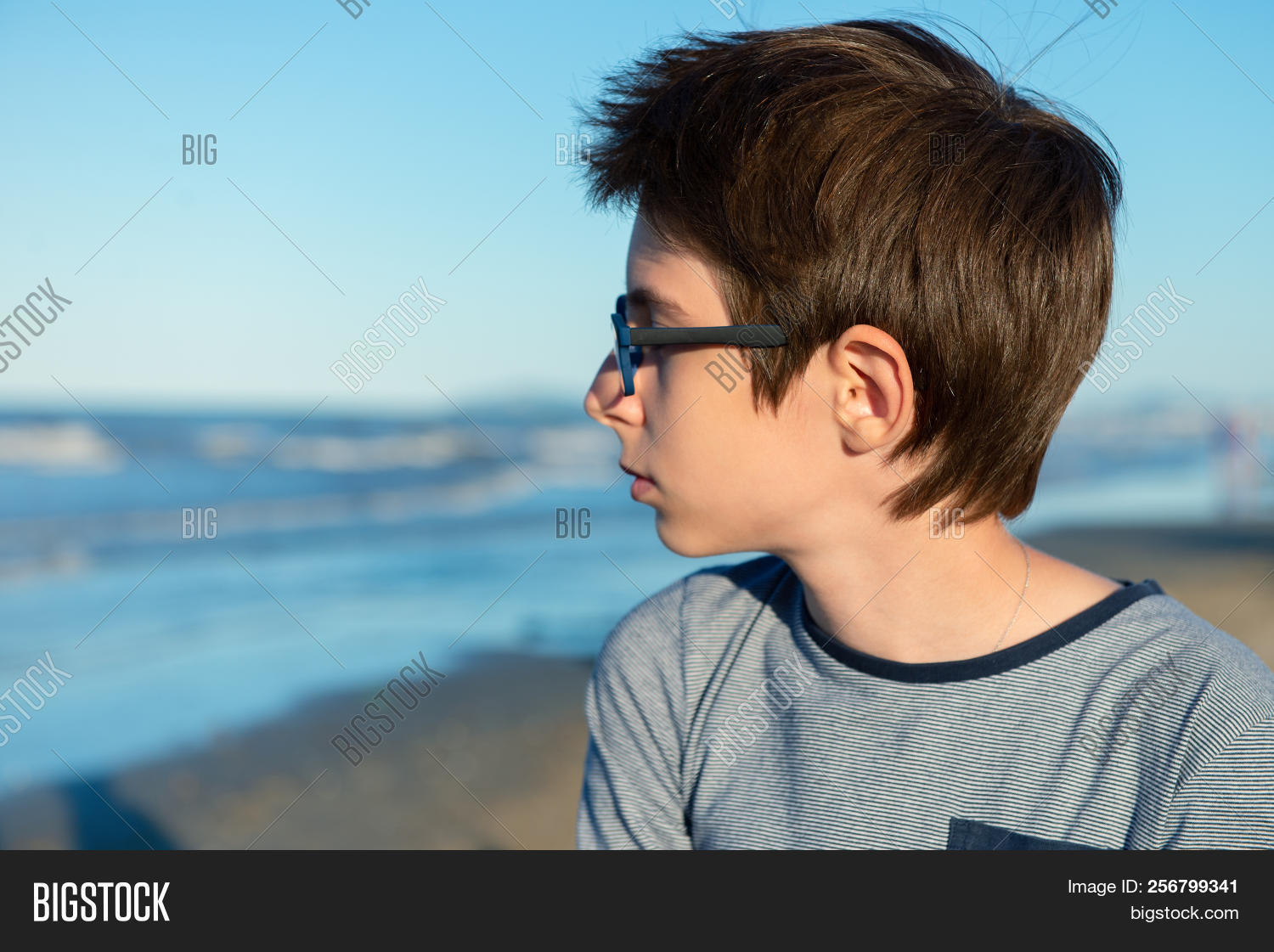 Young Boy Posing Image Photo Free Trial Bigstock