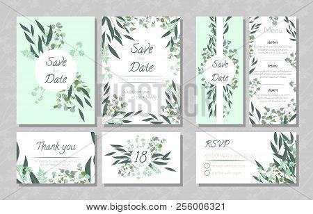 eucalyptus design vector photo free trial bigstock
