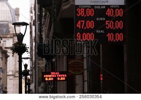 Argentina Devaluation 2018