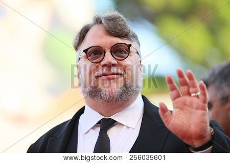 Guillermo del Toro walks the red carpet ahead of the opening ceremony during the 75th Venice Film Festival at Sala Grande on August 29, 2018 in Venice, Italy.