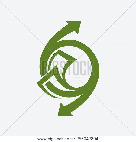 Arrows And Banknote Symbols, Modern And Creative Abstract Logo Designs, Logo For Industry And Busine