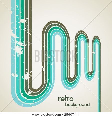 Retro vector background