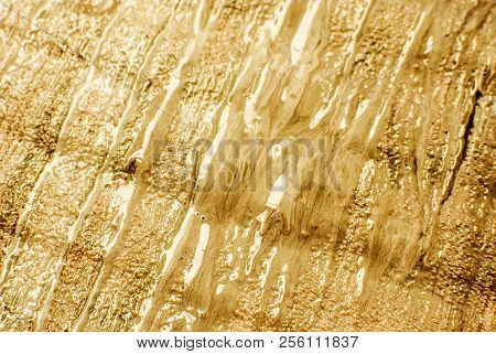 Artists Oil Paints Closeup Abstract Background. Hand Drawn Oil Painting. Abstract Art Texture. Fragm