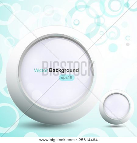 Abstract circle background, vector