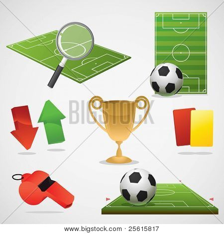 European football design elements.