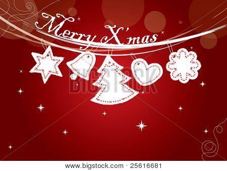 hanging christmas element