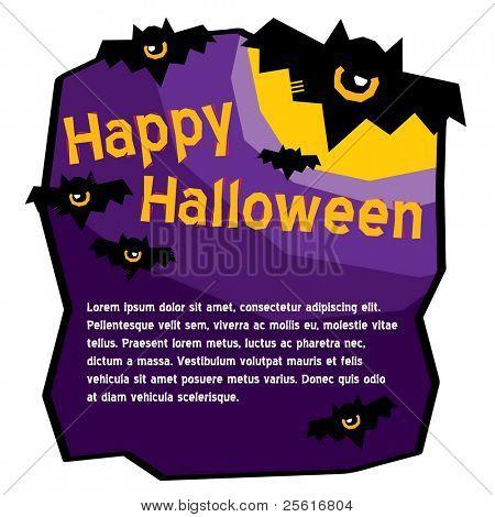 halloween bat template