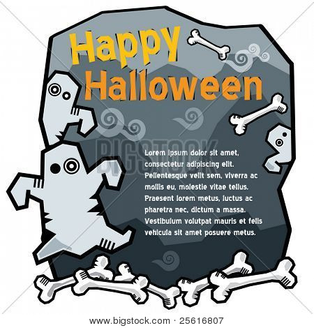 halloween ghost template