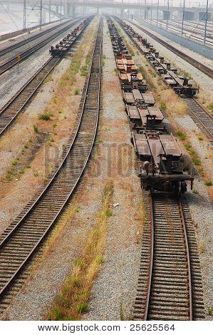 Train tracks to knowwhere.