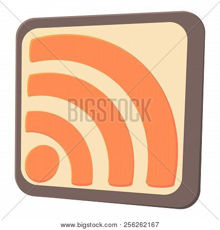 Wireless Network Sign Icon. Cartoon Illustration Of Wireless Network Sign Icon For Web