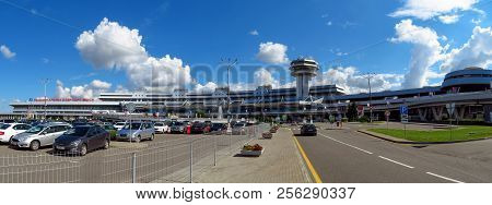 Minsk - Wide Angle View Of National Airport