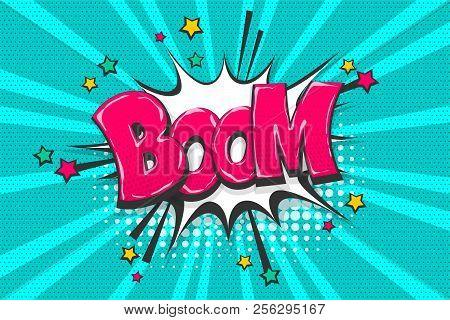 Boom, Bang, Wow Comic Vector & Photo (Free Trial) | Bigstock