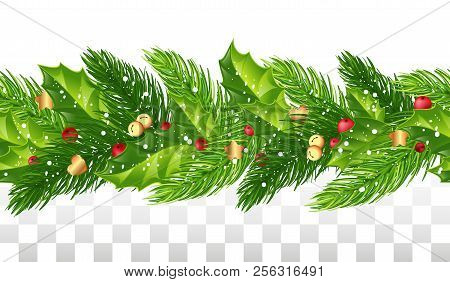 Seamless Christmas Vector Photo Free Trial Bigstock