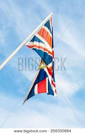 The Flag Of Great Britain, Commonly Known As The Union Jack Or Union Flag.