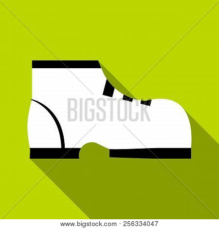 One Boot Icon. Flat Illustration Of One Boot Icon For Web
