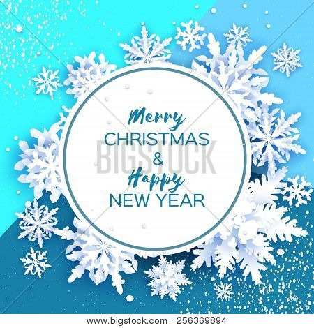Merry Christmas Happy Vector & Photo (Free Trial) | Bigstock
