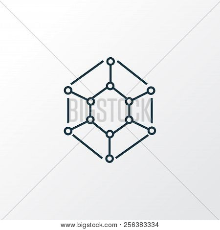 Physics Icon Line Vector Photo Free Trial Bigstock