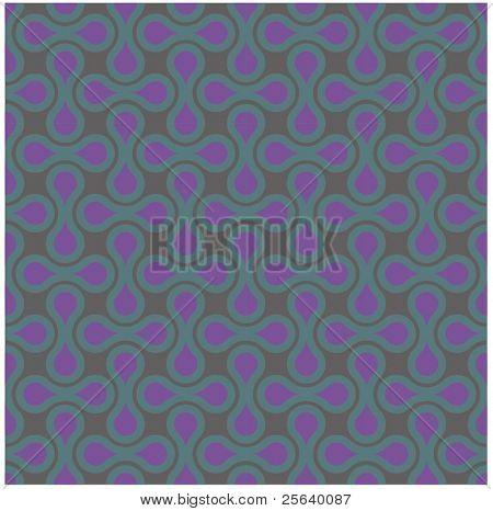 Drop-shaped vector pattern.