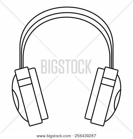 Wireless Headphones Icon. Outline Illustration Of Wireless Headphones Vector Icon For Web Design Iso