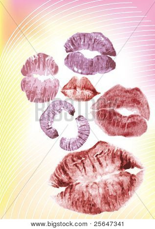 collection of juicy kisses