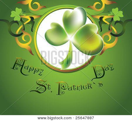 St.Patrick`s Day design