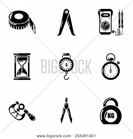 Gravity Icons Set. Simple Set Of 9 Gravity Vector Icons For Web Isolated On White Background