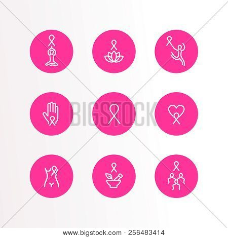 Breast Cancer Vector Photo Free Trial Bigstock