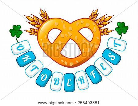Welcome Oktoberfest Icon. Cartoon Of Welcome Oktoberfest Vector Icon For Web Design Isolated On Whit