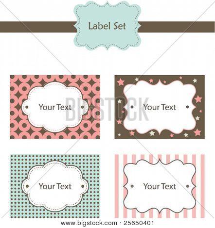 Cute Label Set