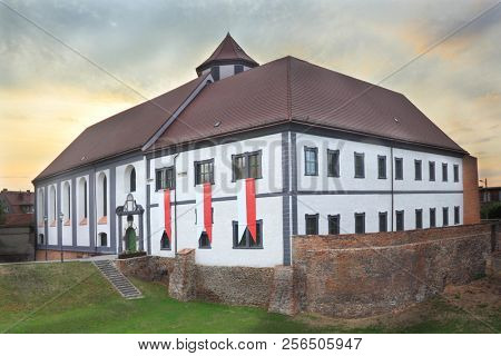 Old castle in Kozuchow, Poland