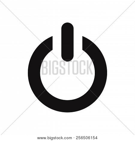 Power Icon Isolated On White Background. Power Icon In Trendy Design Style. Power Vector Icon Modern