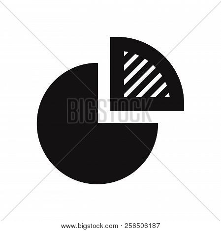 Pie Chart Icon Isolated On White Background. Pie Chart Icon In Trendy Design Style. Pie Chart Vector