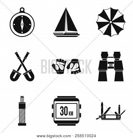 Transition Period Icons Set. Simple Set Of 9 Transition Period Icons For Web Isolated On White Backg