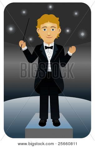 Music conductor.  Visit my portfolio for more professions and business persons.