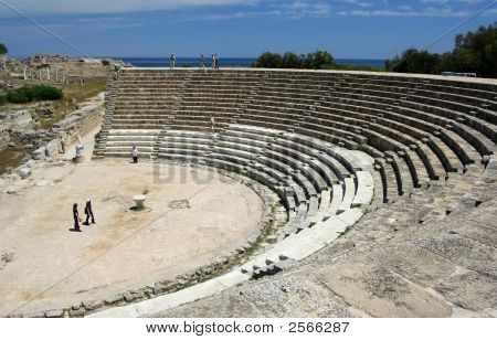 Salamis Ancient Theater Cyprus