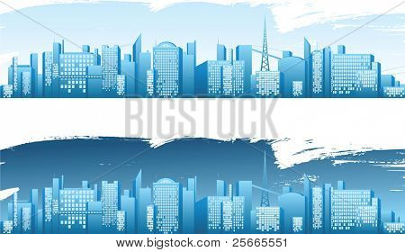 big city skyline