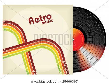 retro-styled vinyl