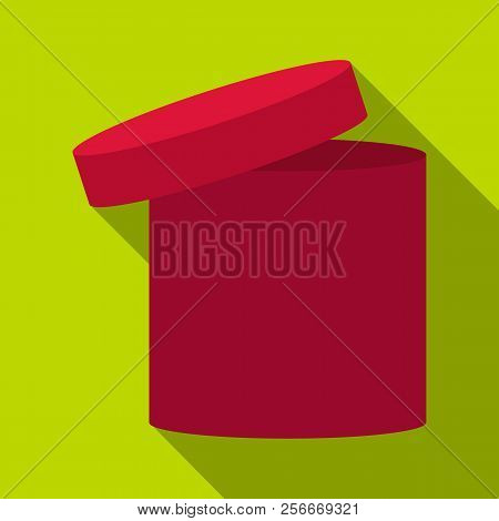 Tall Box Icon. Flat Illustration Of Tall Box Icon For Web