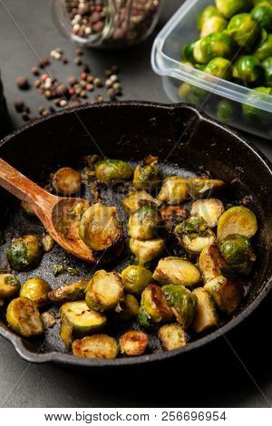 Roasted brussles sprouts