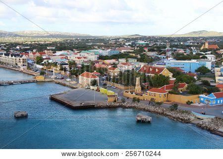 Kralendijk, Bonaire - 12/16/17 -  Downtown Views Of The Town Of Kralendijk, Bonaire