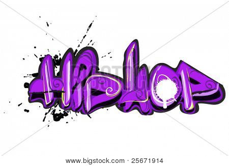 graffiti hip-hop design