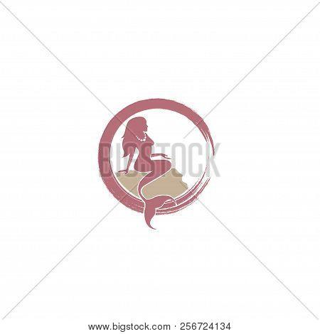 Mermaid. Mermaid. Mermaid icon Vector. Mermaid symbol. Mermaid Logo vector. Mermaid sign. Mermaid concept vector. Mermaid Logo design. Mermaid illustration. Mermaid Tail. Mermaid icon logo vector illustration isolated on white background.