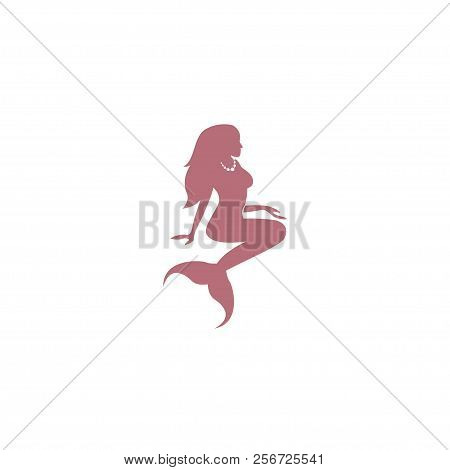 Mermaid. Mermaid. Mermaid icon Vector. Mermaid symbol. Mermaid Logo vector. Mermaid sign. Mermaid concept vector. Mermaid Logo design. Mermaid illustration. Mermaid Tail. Mermaid icon logo vector illustration isolated on white background.