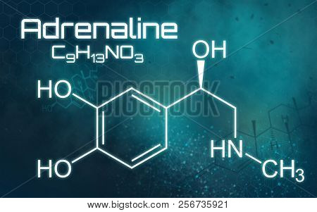 Science Background - The Chemical Formula Of Adrenaline