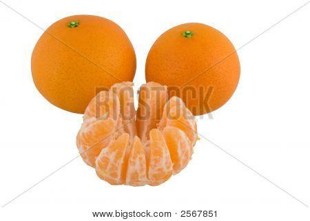 Tangerine, Satsuma Or Mandarin Oranges