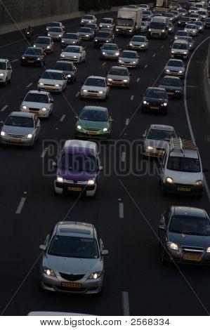 Heavy Traffic Closeup (2)