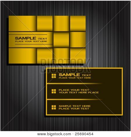 Business card set 36