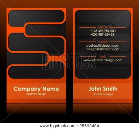 business card 40