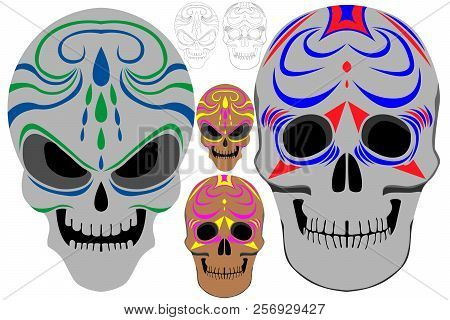 holy death day dead vector photo free trial bigstock